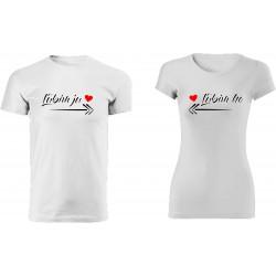 Párové tričká s potlačou -...