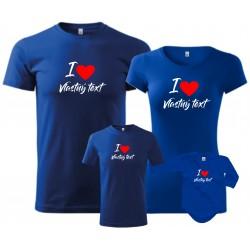 Rodinné tričká s potlačou -...